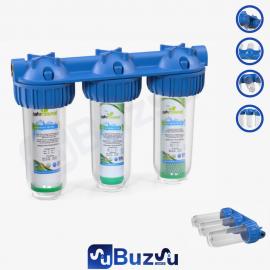 Daire ve Ana Giriş 3 lü Filtreleme Sistemi - Silifoz Taşlı
