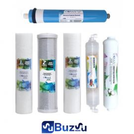 Conax 6 'lı filtre Seti - Şeffaf Set