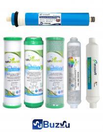 Ecosoft Pure Filtre Seti 6 Aşamalı (Ecosoft Membranlı) Fiyatı