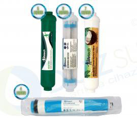 LifeTech Membran+Mineral+Alkali+Detoks Filtre seti