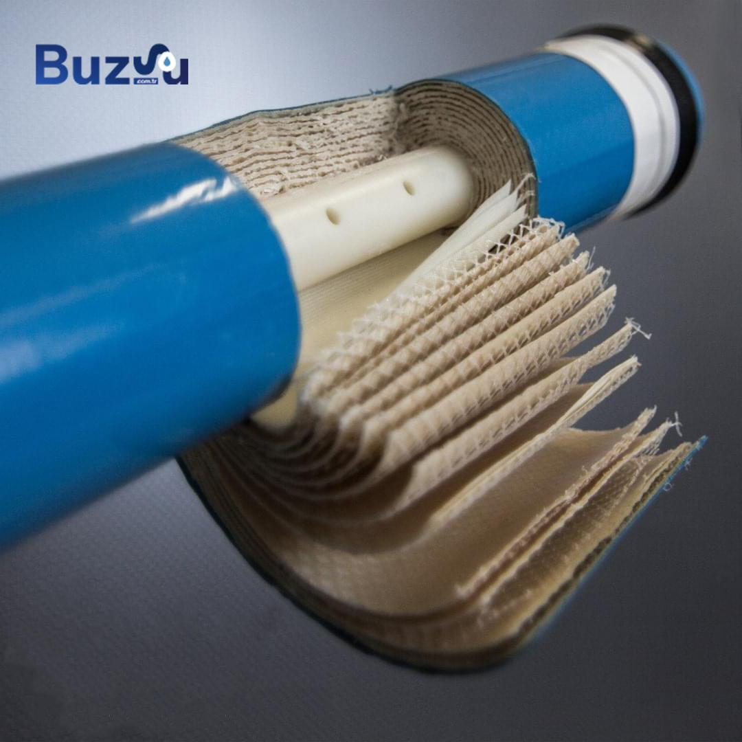 membran filtre iç görünümü