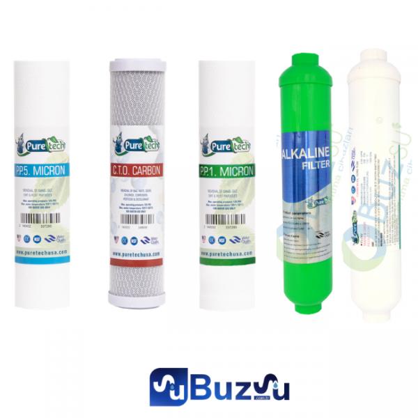 PureTech Su Arıtma Cihazı 5 Aşama Filtre (Membran Filtresiz)