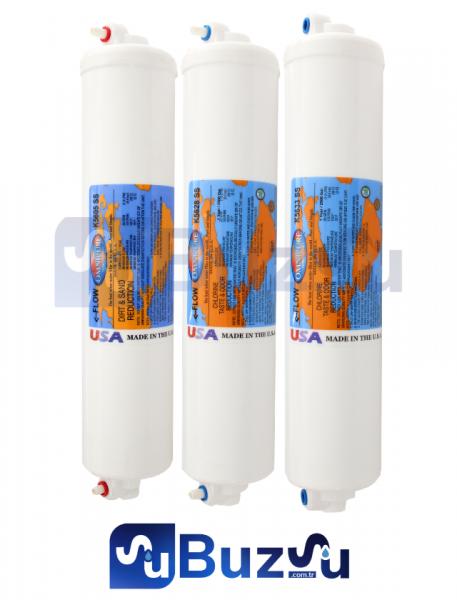 OMNİPURE BMS K56 SERİSİ Su Arıtma Filtresi 3 Lü Set Fiyatı