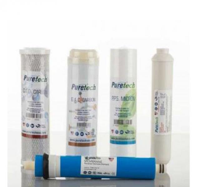 Puretech USA 5 Aşama Filtre Seti [Tüm Cihazlara Uyumlu]