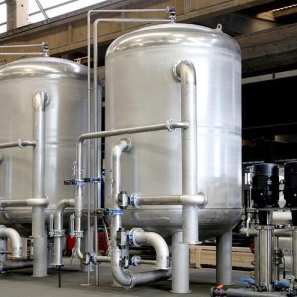 Reverse Osmosis System 1500 Ton  Endüstriyel Su Arıtma Sistemi