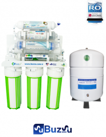 Buzsu Naturalsnet Açık kasa su arıtma cihazı 11 Aşamalı Filtreleme