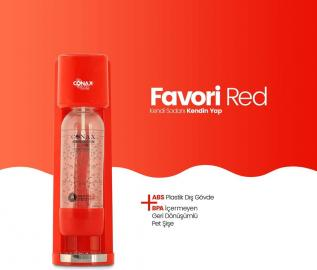 Conax Favori Red Soda Makinesi 450 Gr Tüplü